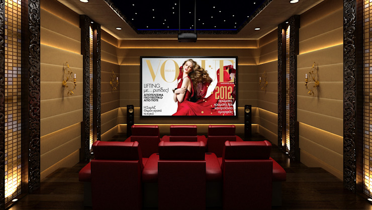 Classic style media room by homify Classic MDF