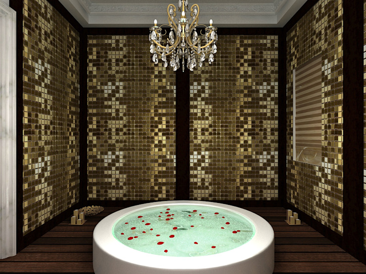 Classic style bathroom by homify Classic Glass