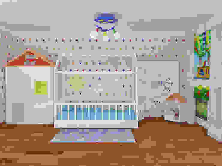 Dormitorios infantiles de estilo moderno de MOBİLYADA MODA Moderno
