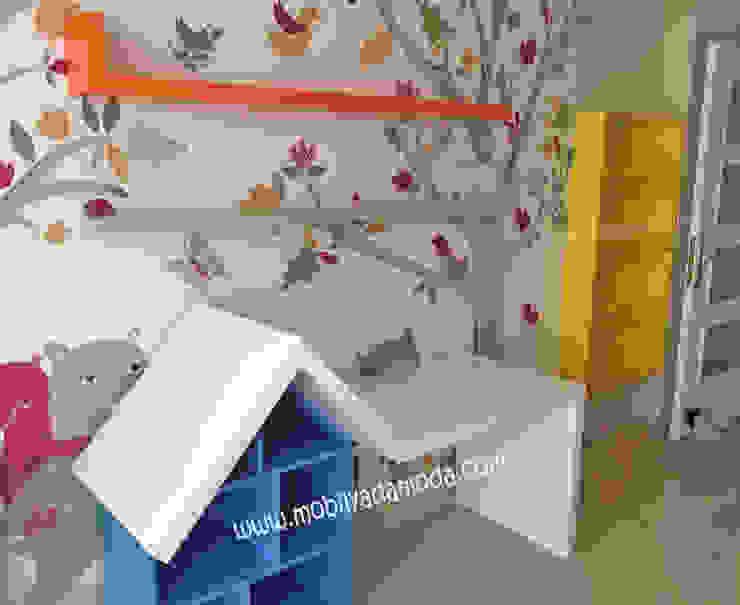 Montessori'ye uygun Bebek Odası, Kuzey'in odası Modern Çocuk Odası MOBİLYADA MODA Modern