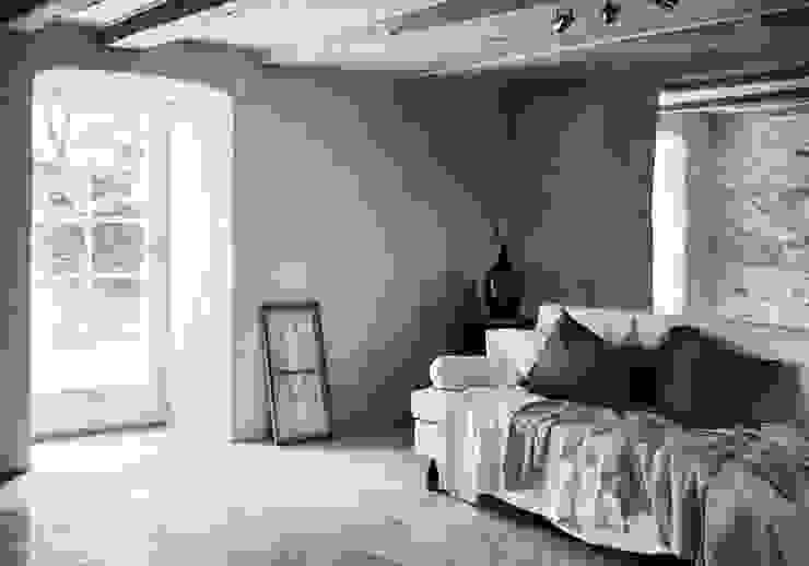 Il fascino dello stile nordico in una villa del '700 Soggiorno in stile scandinavo di Design for Love Scandinavo