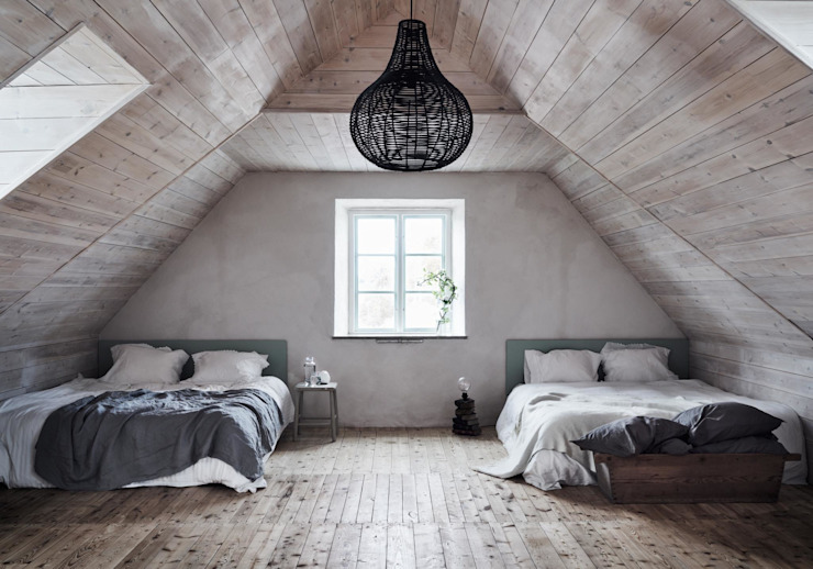 Scandinavian style bedroom by Design for Love Scandinavian