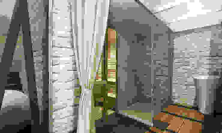 Architetto Luigia Pace Modern spa Wood Beige