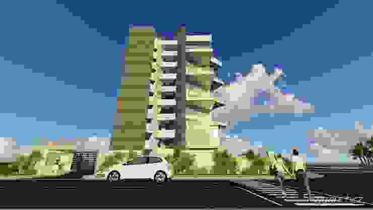 Conjunto de Apartamentos <q>Puerto Plata</q> Closets de estilo moderno de Grupo JOV Arquitectos Moderno