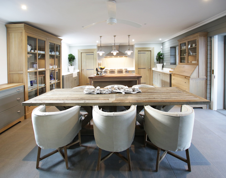 Kitchen & Dining by JSD Interiors Country Wood Wood effect
