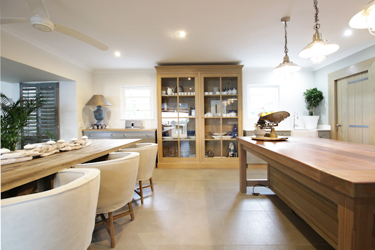 Kitchen by JSD Interiors Country Wood Wood effect