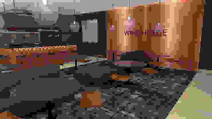 Casa de Vinhos| Wine House Espaços de restauração modernos por IDesign.art by Paula Gouveia Moderno