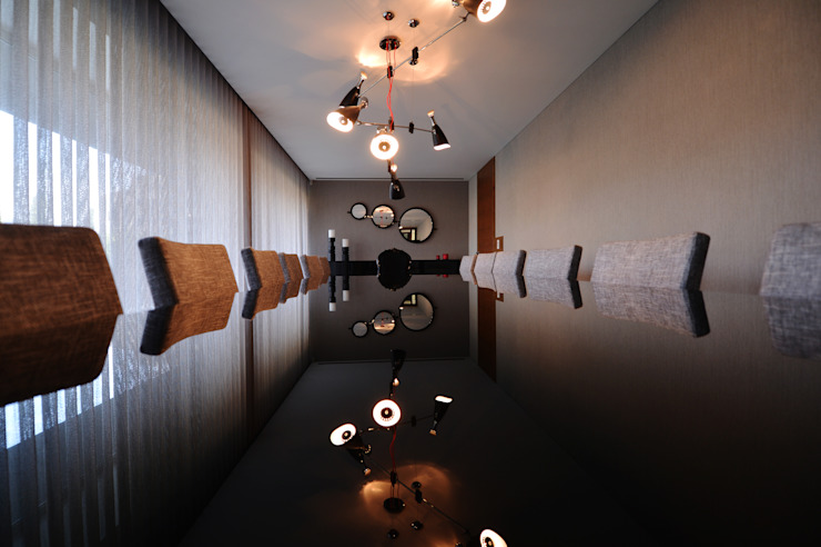 Sala de Jantar - Casa das Artes by Musa Décor Salas de jantar minimalistas por Musa Décor Minimalista