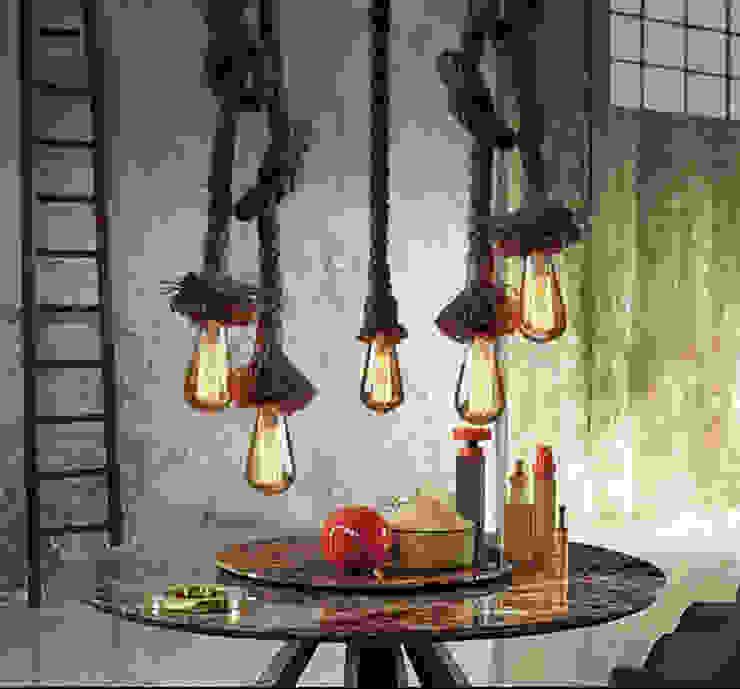 Touwlamp van Loftlamp.nl Industrieel