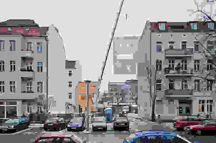 Bauarbeiten brandt+simon architekten Moderne Häuser