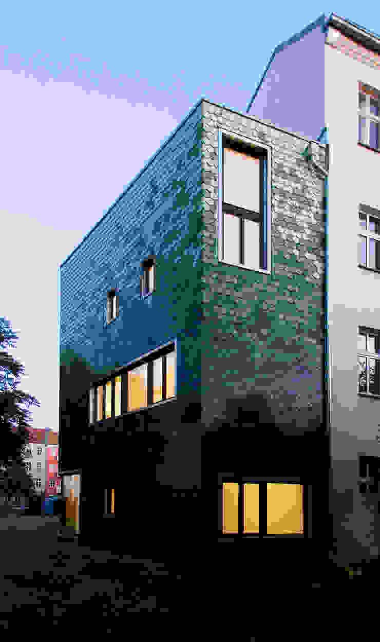 evening impression Modern Houses by brandt+simon architekten Modern Ceramic