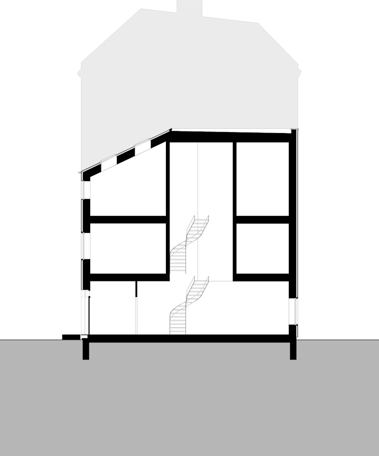 section B: modern  by brandt+simon architekten, Modern