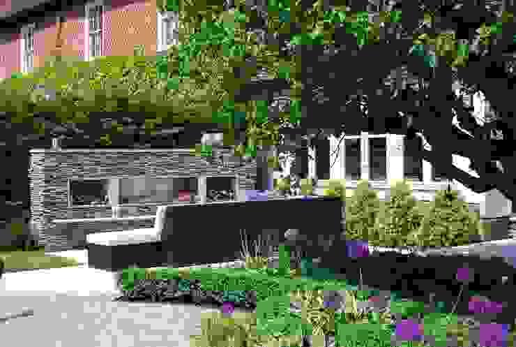 Felsted Place Jardines de estilo minimalista de Aralia Minimalista Piedra