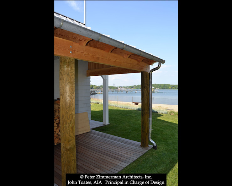 Boathouse Porch John Toates Architecture and Design Classic style balcony, porch & terrace