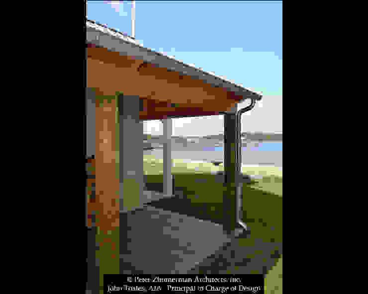 Boathouse Porch John Toates Architecture and Design Patios & Decks
