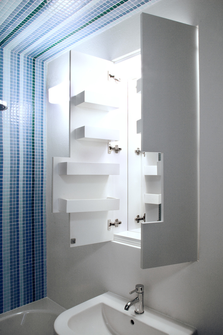 bathroom furniture brandt+simon architekten BathroomStorage White