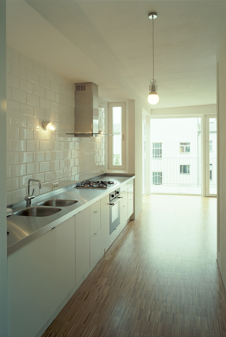 brandt+simon architekten Modern kitchen
