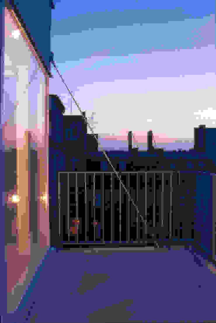 balcony Modern Terrace by brandt+simon architekten Modern