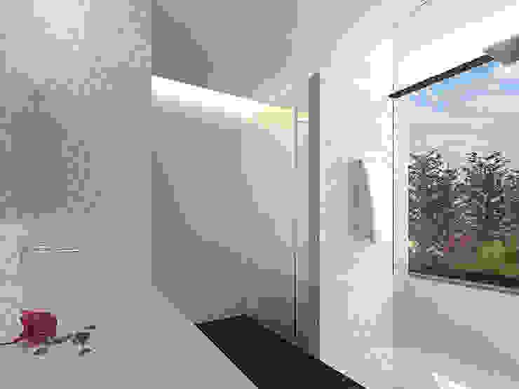 Reformulaçao de um apartamento no centro historico Casas de banho minimalistas por 2L'atelier arquitectos Minimalista