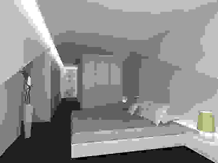 Reformulaçao de um apartamento no centro historico Quartos minimalistas por 2L'atelier arquitectos Minimalista