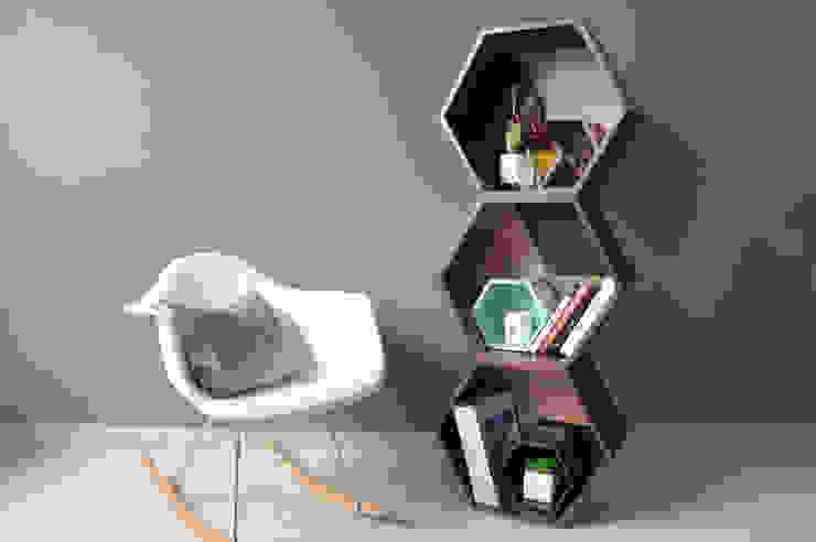 PANAL ON WOOD de APOTEMA Estudio de Diseño Moderno Madera Acabado en madera