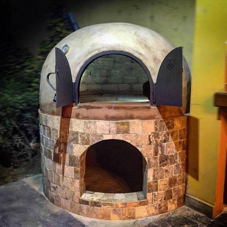 horno de barro de horno peru