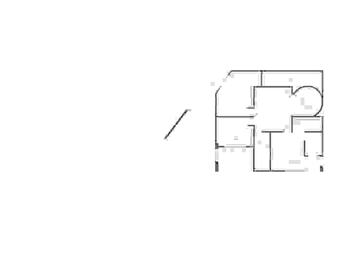 Planos Planta alta de DOSA studio Moderno