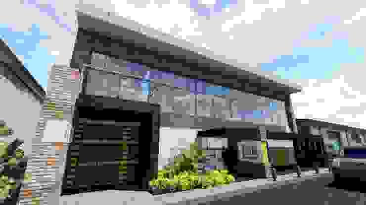 Proyecto para Laboratorio en Miami 02 Garajes y galpones industriales de Ghalmaca Arquitectura Industrial Concreto reforzado