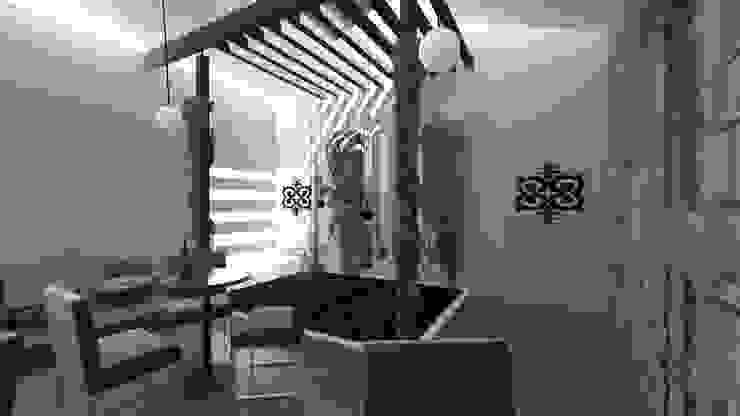 Jardim e Luz natural Jardins de Inverno modernos por A3 Ateliê Academia de Arquitectura Moderno Madeira Acabamento em madeira