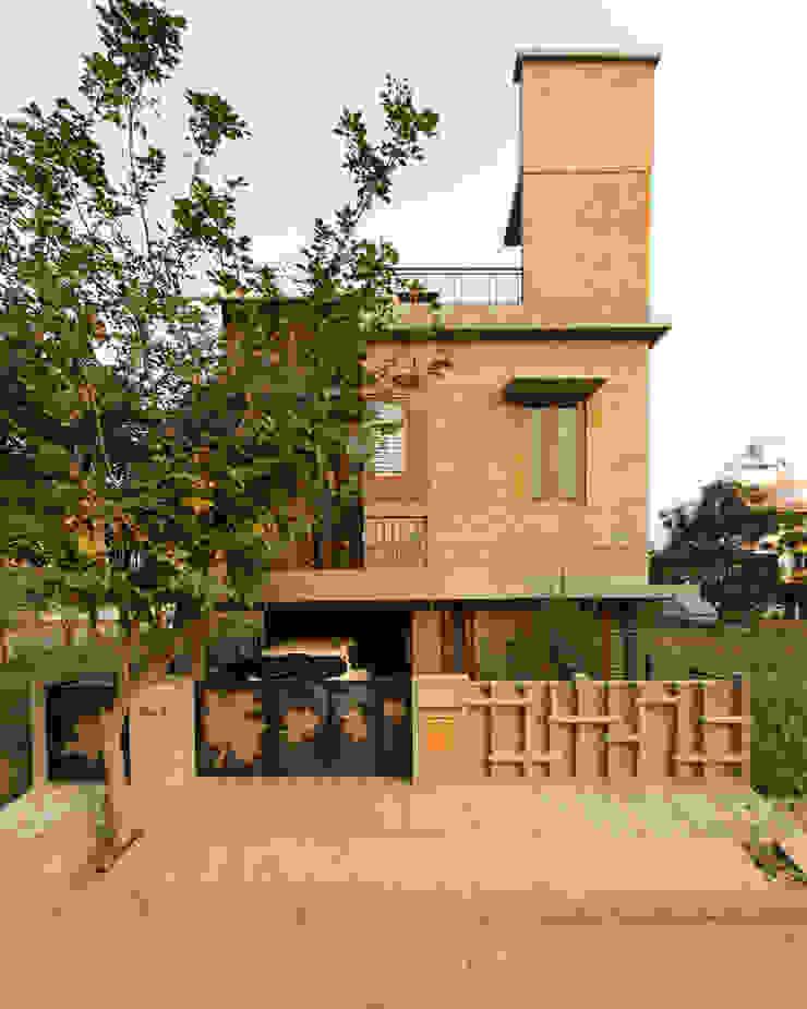 Azjatyckie domy od A3 Ateliê Academia de Arquitectura Azjatycki