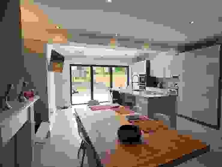 Kitchen Modern Living Room by Progressive Design London Modern