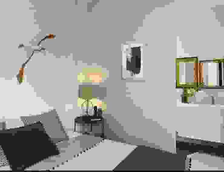 camera da letto al amre Camera da letto in stile mediterraneo di architettotorregrossa Mediterraneo MDF
