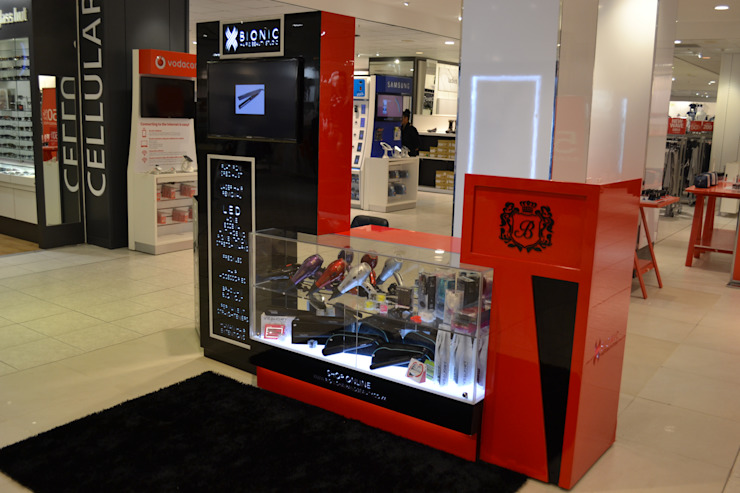 Bionic Kiosk / In Edgars Stores Nationwide by Oscar Designs
