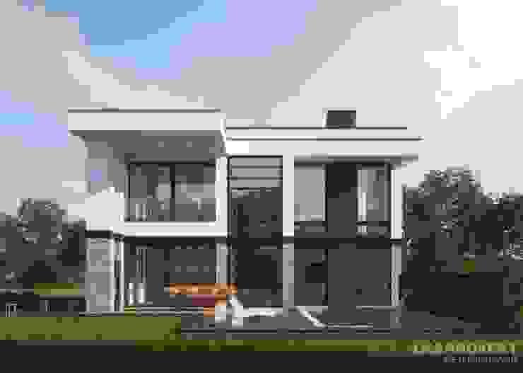 Дома в стиле модерн от LK&Projekt GmbH Модерн