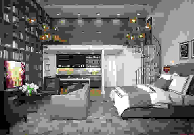 Industrial style kitchen by Alexander Krivov Industrial