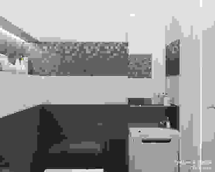 Мария Трифанова Minimalist style bathroom