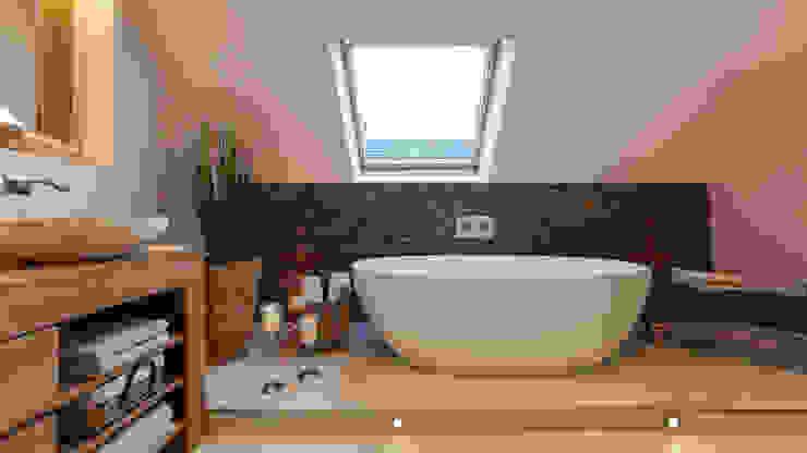 Phòng tắm phong cách chiết trung bởi Boddenberg Chiết trung