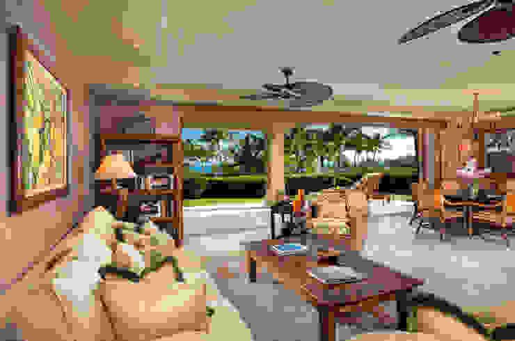 CASA BRUNO Islander ventilador de techo, marrón óxido, ISD1A Salones de estilo tropical de Casa Bruno American Home Decor Tropical