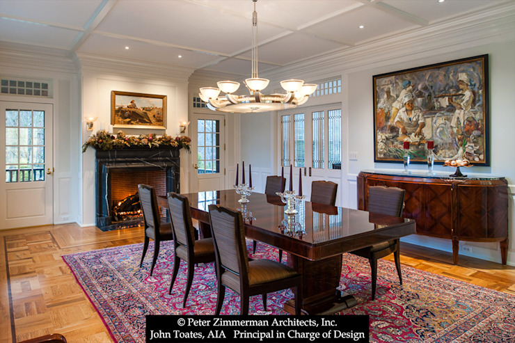 Formal Dining Room Classic style dining room by John Toates Architecture and Design Classic