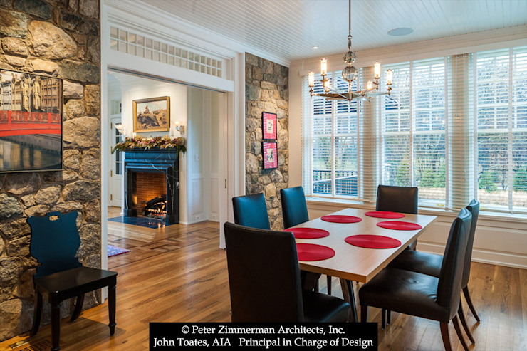 Family Dining John Toates Architecture and Design Classic style dining room