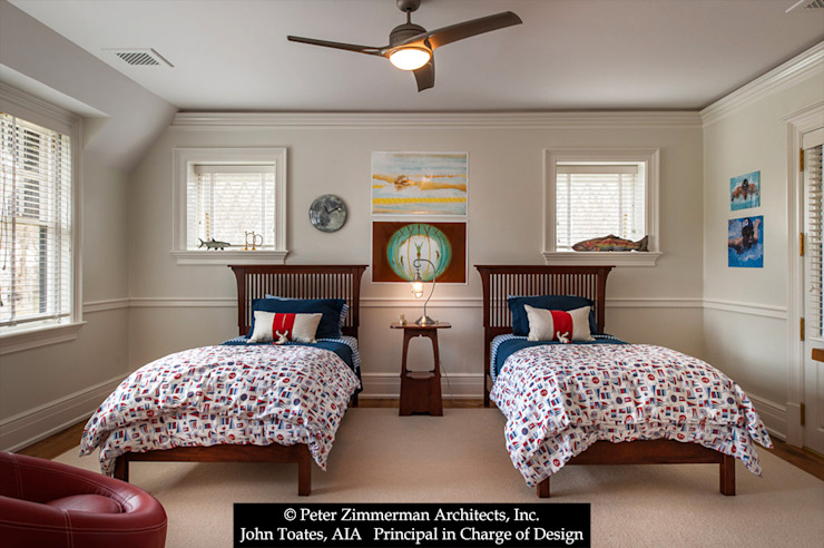 Children's Bedroom Classic style bedroom by John Toates Architecture and Design Classic
