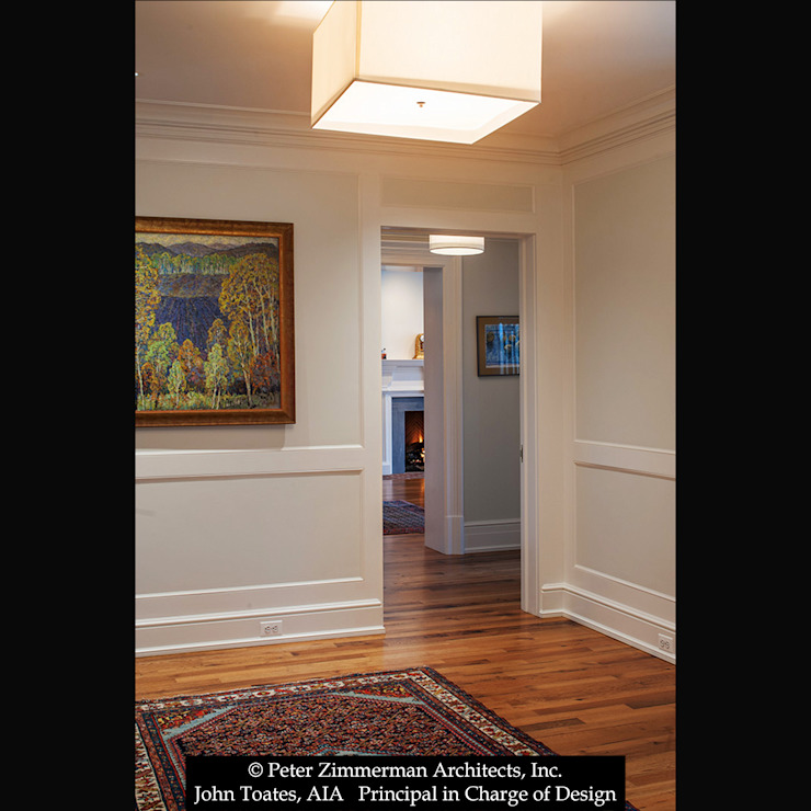 Hallway Classic style corridor, hallway and stairs by John Toates Architecture and Design Classic
