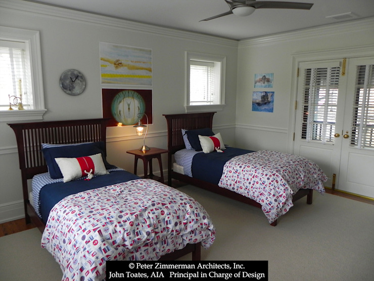 Children's Bedroom John Toates Architecture and Design Classic style bedroom