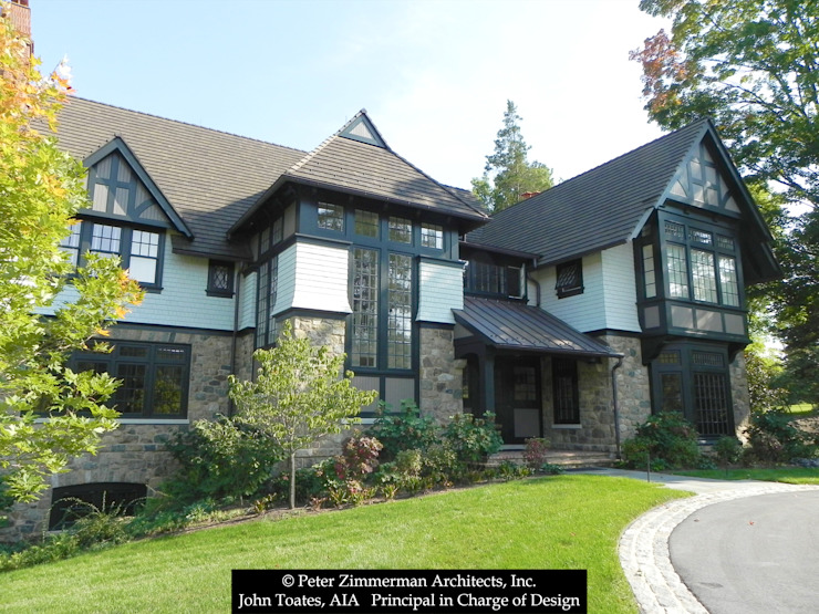 Exterior John Toates Architecture and Design Classic style houses