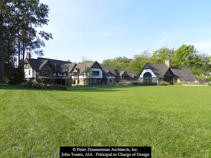 Exterior Classic style houses by John Toates Architecture and Design Classic