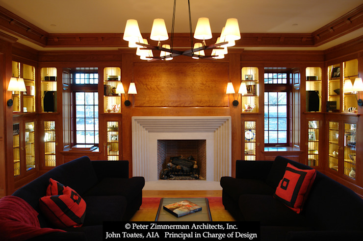 Living Room by John Toates Architecture and Design Classic