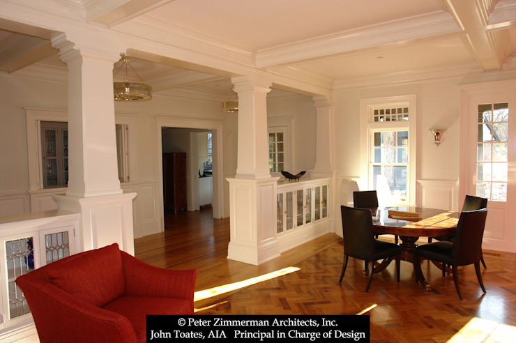 Game Room John Toates Architecture and Design Classic style media rooms