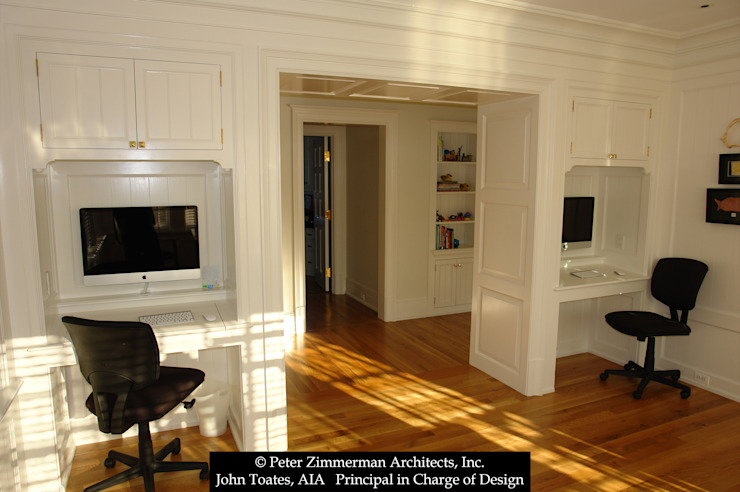 Home Office John Toates Architecture and Design Classic style study/office