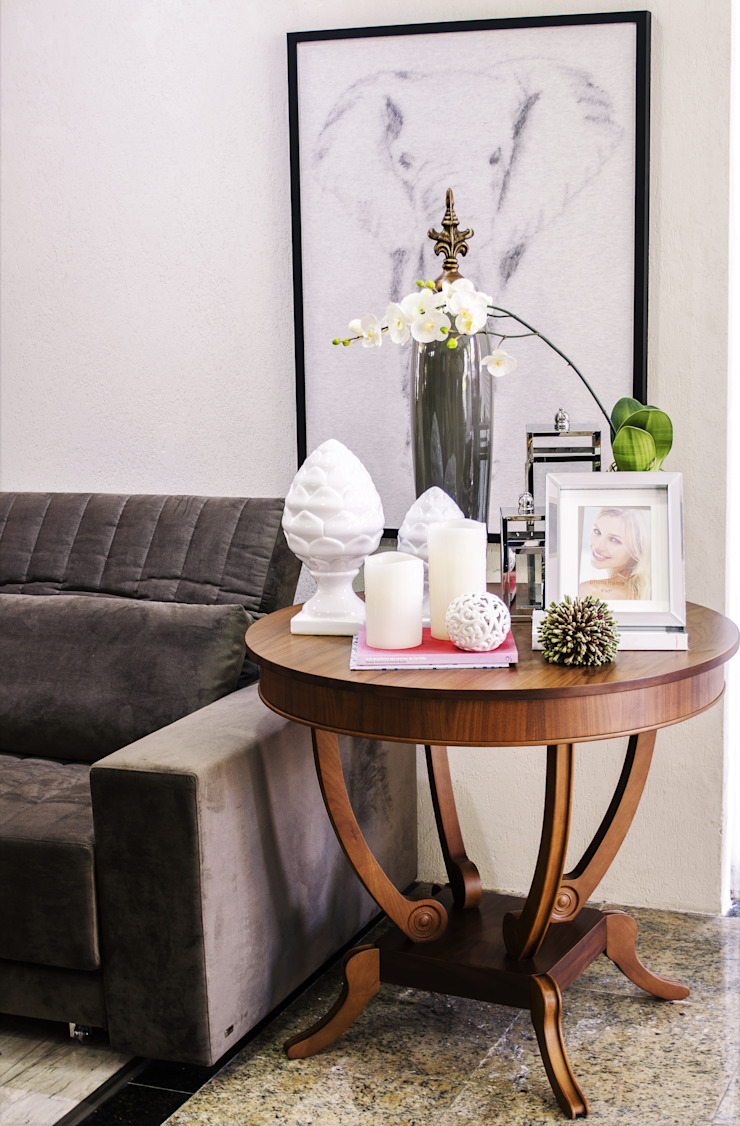 Espaços Ambientados por Sgabello Interiores Moderno Madeira Efeito de madeira