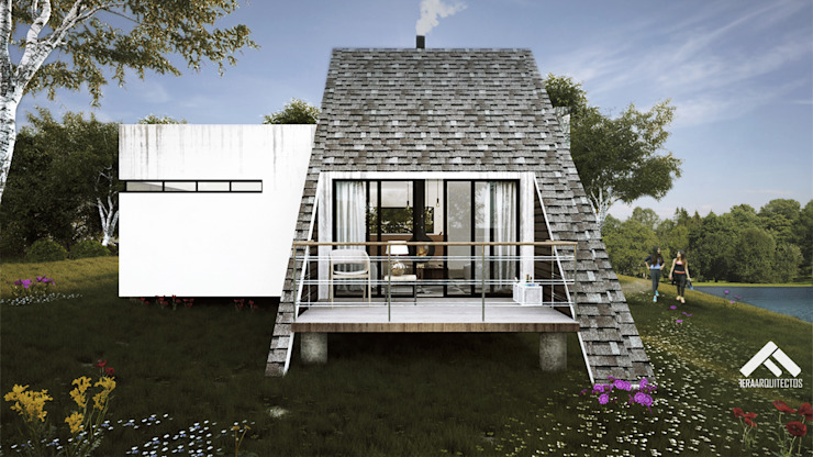 Балкон в скандинавском стиле от FERAARQUITECTOS Скандинавский